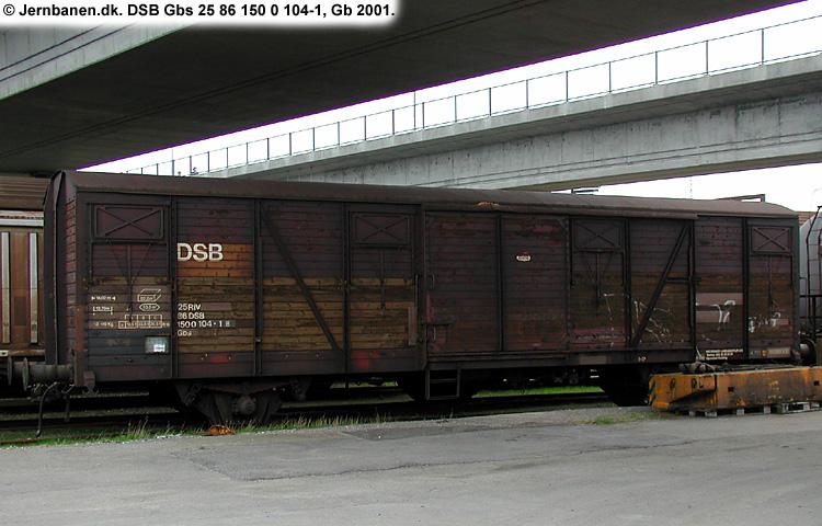 DSB Gbs 1500104