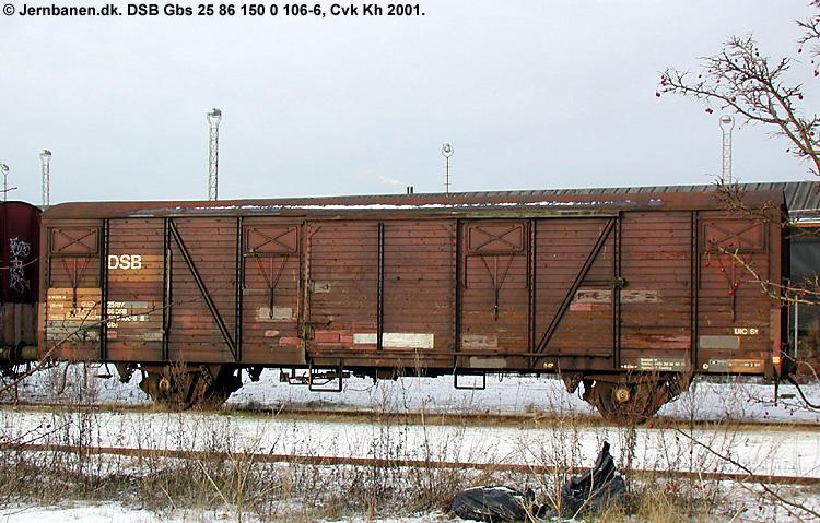 DSB Gbs 1500106