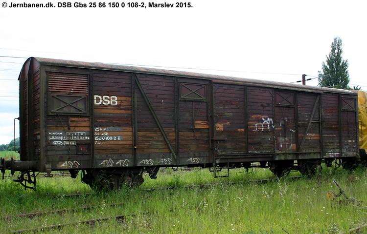 DSB Gbs 1500108