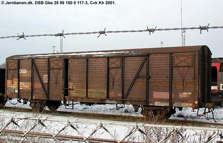 DSB Gbs 1500117