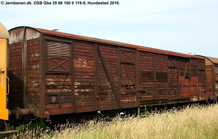 DSB Gbs 1500119
