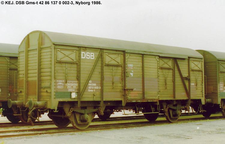 DSB Gms-t 1370002