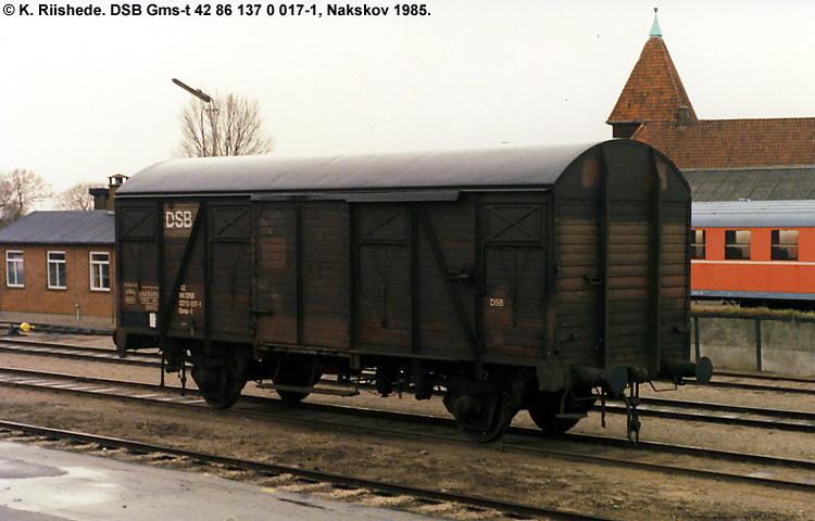 DSB Gms-t 1370017