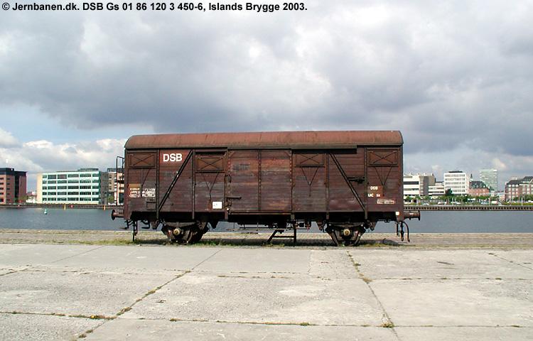 DSB Gs 1203450
