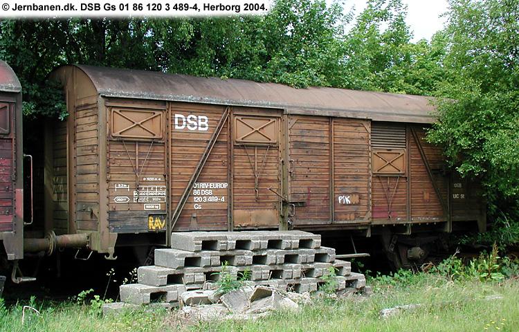 DSB Gs 1203489