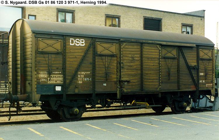 DSB Gs 1203971