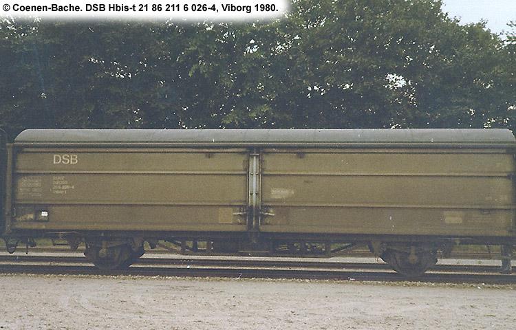 DSB Hbis-t 2116026