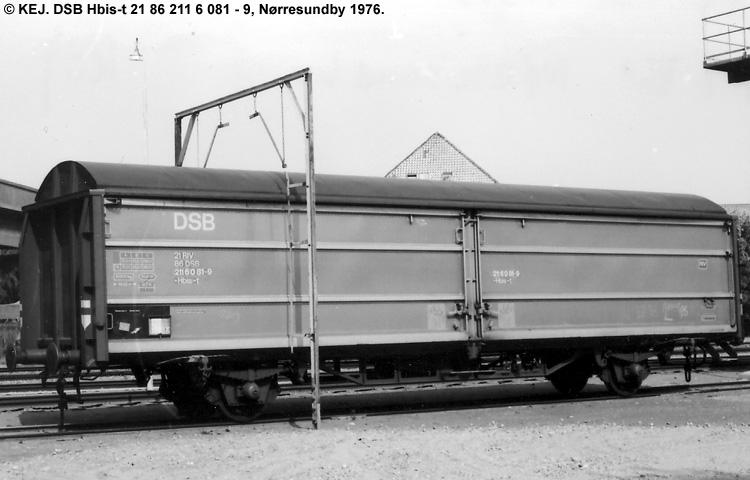 DSB Hbis-t 2116081