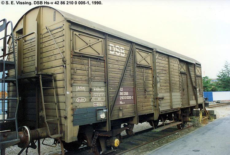 DSB Hs-v 2100005
