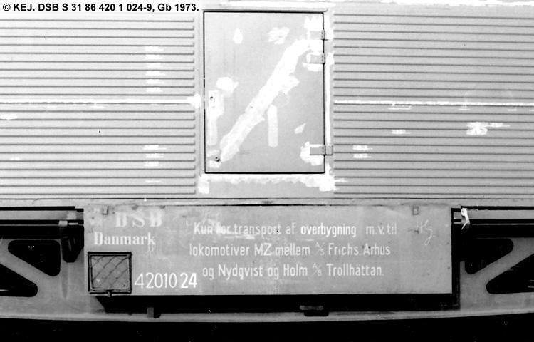 DSB S 4201024