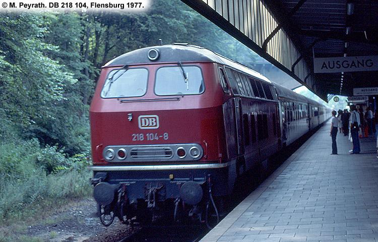 DB 218 104