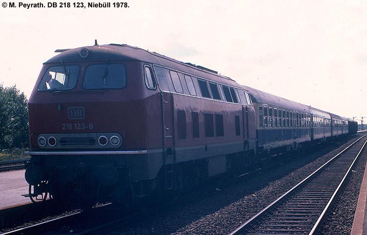 DB 218 123