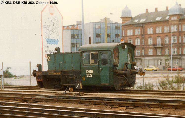 DSB Traktor 252