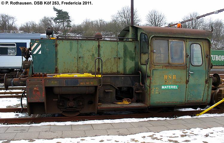 DSB Traktor 253