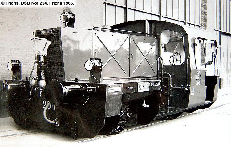 DSB Traktor 254