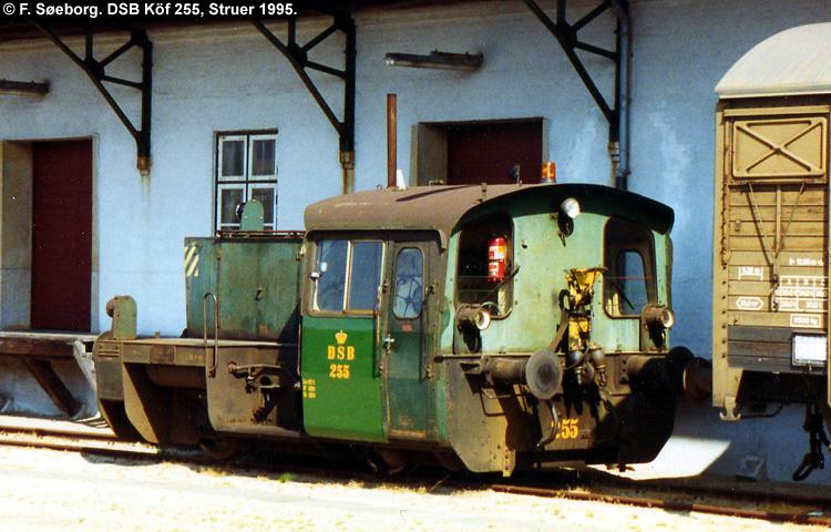 DSB Traktor 255