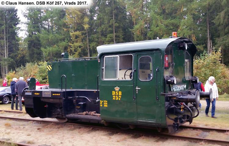 DSB Traktor 257