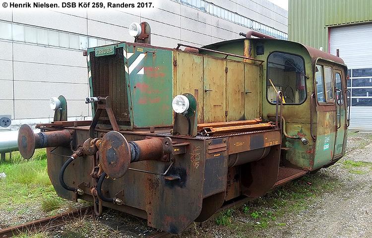 DSB Traktor 259