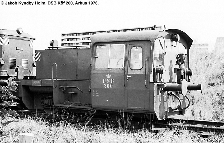 DSB Traktor 260