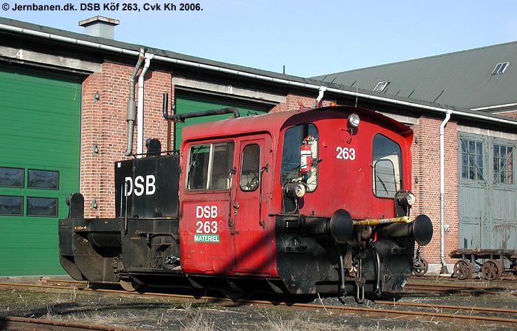 DSB Traktor 263