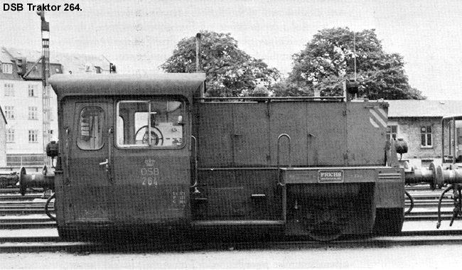 DSB Traktor 264