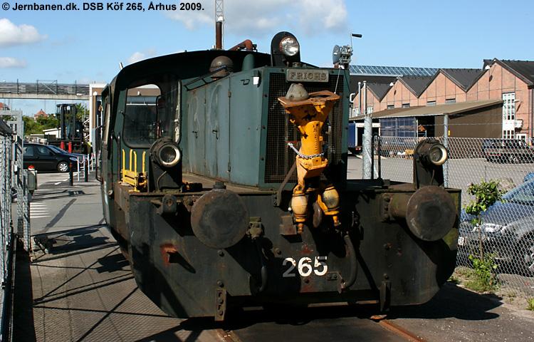 DSB Traktor 265