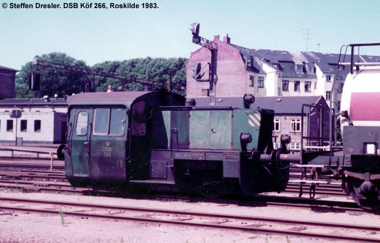 DSB Traktor 266