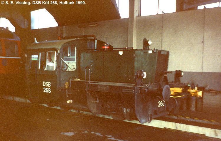 DSB Traktor 268