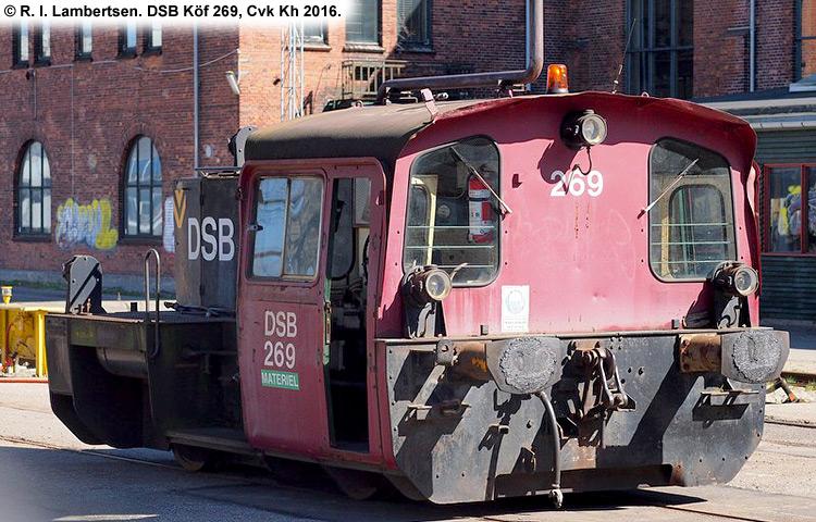 DSB Traktor 269