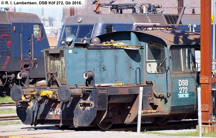 DSB Traktor 272