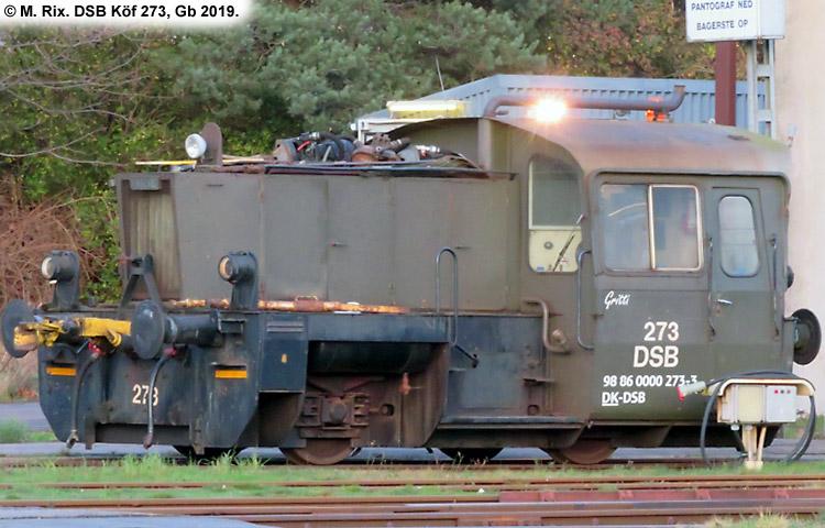 DSB Traktor 273