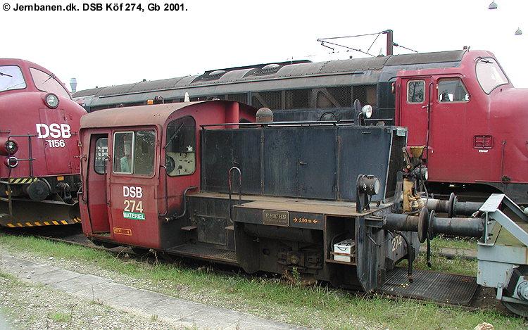 DSB Traktor 274