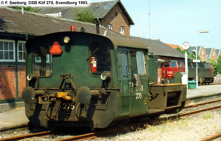 DSB Traktor 275