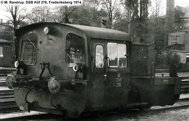 DSB Traktor 276