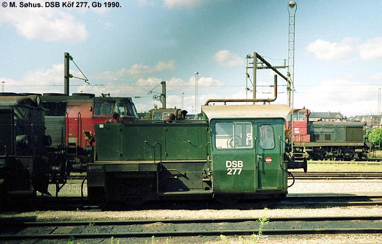 DSB Traktor 277