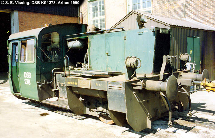 DSB Traktor 278