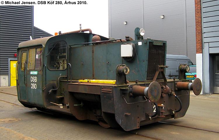 DSB Traktor 280