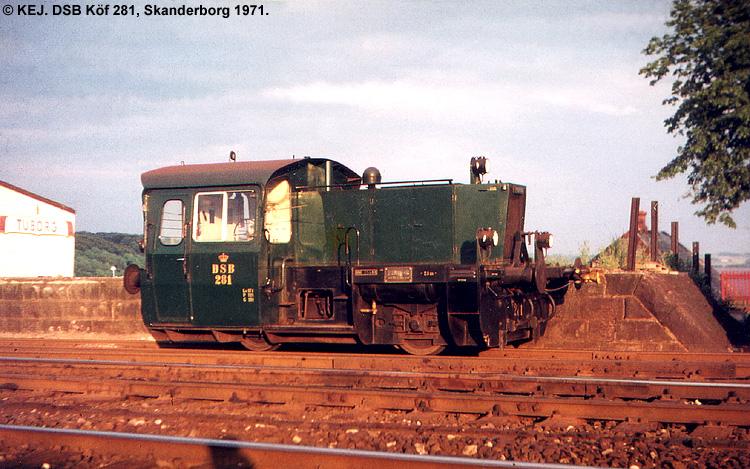 DSB Traktor 281
