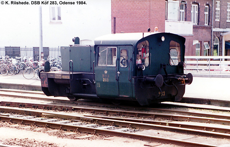 DSB Traktor 283