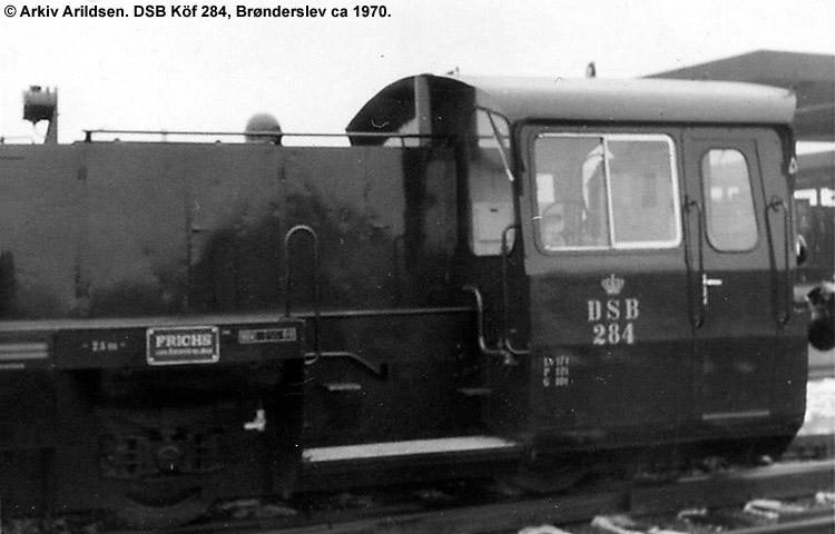 DSB Traktor 284