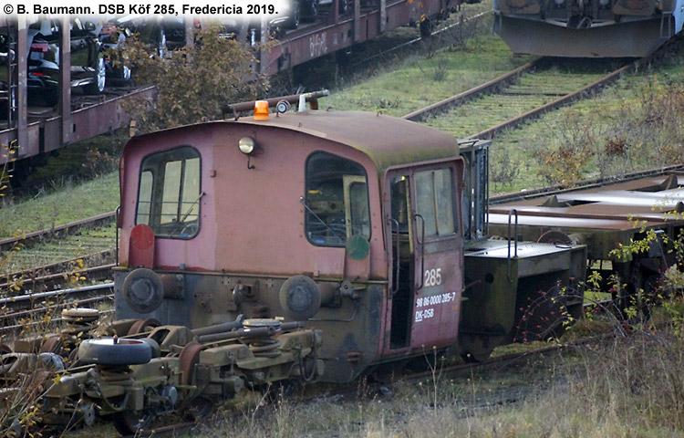 DSB Traktor 285