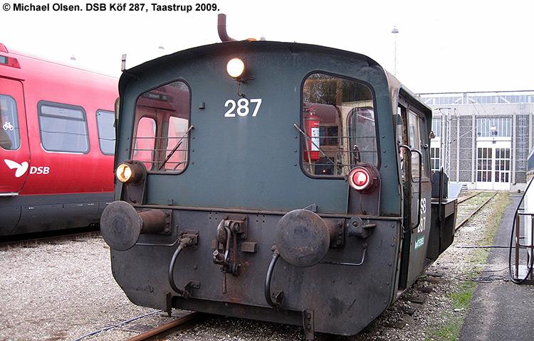 DSB Traktor 287