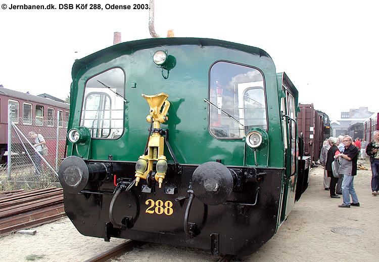 DSB Traktor 288