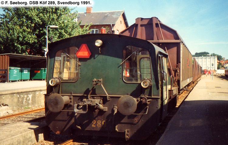 DSB Traktor 289