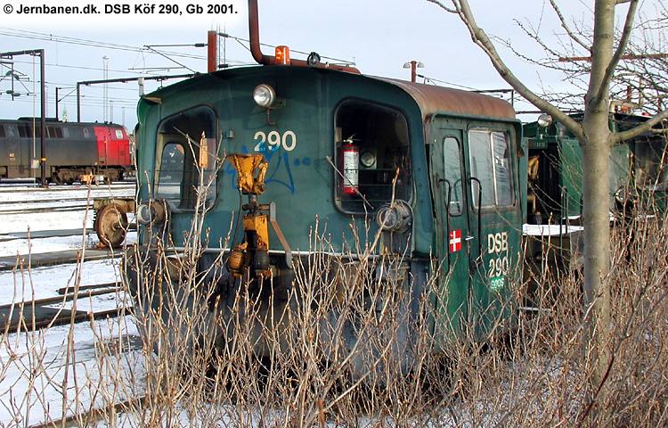 DSB Traktor 290