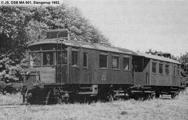 DSB MA 601