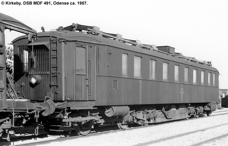 DSB MDF 491