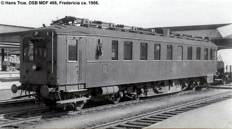 DSB MDF 495