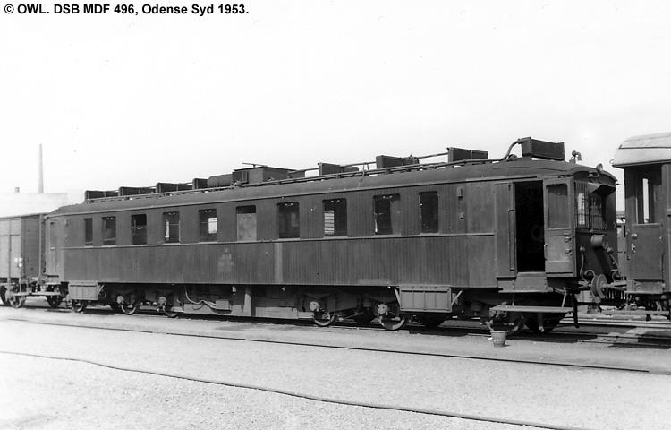 DSB MDF 496