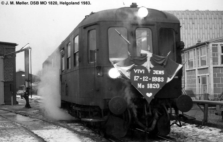 DSB MO 1820